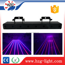 most popular concert musical full color eight eyes high brightness beam laser light