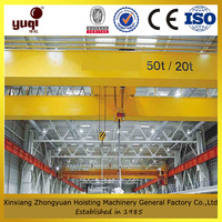 Drawing customized q345 steel type overhead crane used in workshop plant