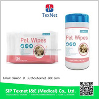 Pet wet wipes with CE and ISO Certificate