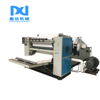 XDFT-20 Fastest New Design High Speed Automatic Printing Embossing V Fold Hand Tissue Paper Machine