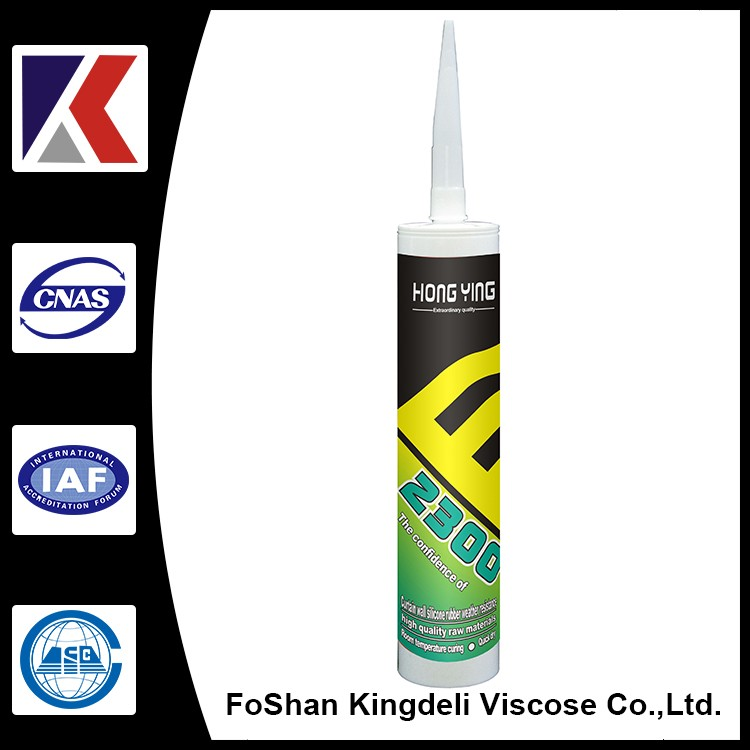 300ml silicone sealants excellent neutral high modulus one-component