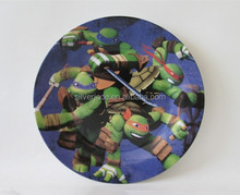 flat dinner plates with cartoon designs