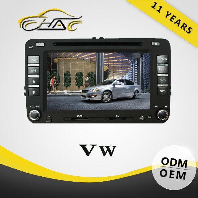 chinese 2 din car for volkswagen passat b5 car radio tv dvd system