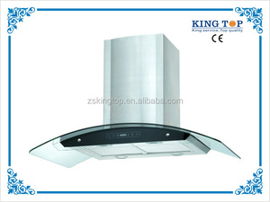 2015 hot selling Glass panel Kitchen chimney with CE
