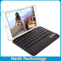 For iPad mini Foldable Leather Case With Magnetic Detachable Bluetooth Keyboard 8 inch