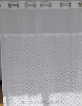 new design] embroidery battenburg lace shower curtains of chinese style showercurtains by handworks S29