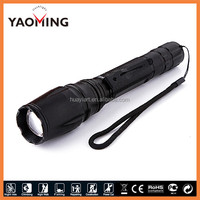 2013 hot selling High Light Rechargeable LED Torch CREE XML T6 Strong Light Ultrafire Torch Lighter