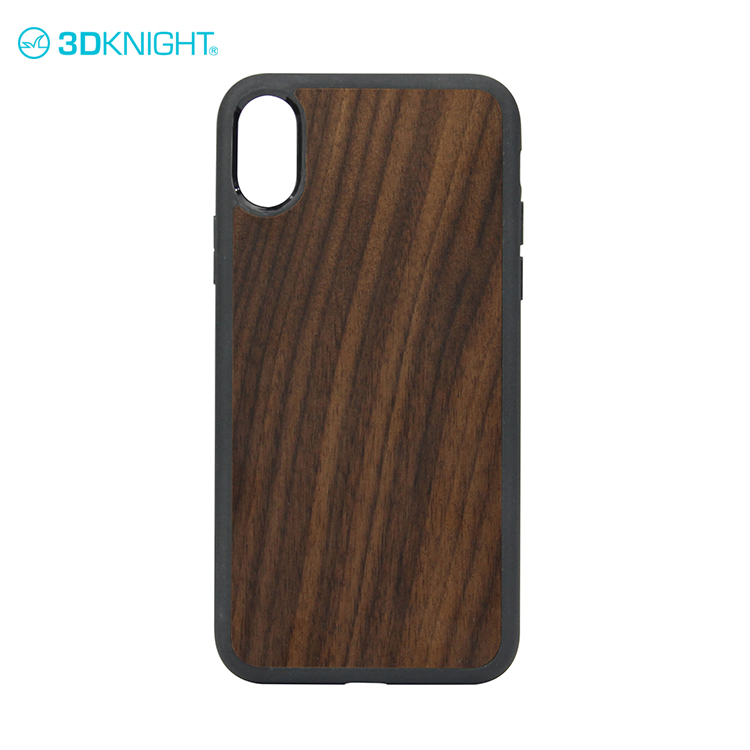 Latest design popular wood phone covers case for iphone X shockproof case
