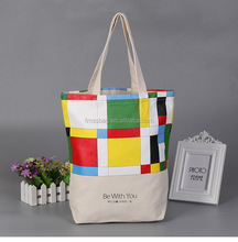 Wholesale China Bags Manufacturer Customized Recycled Natural Promotional Organic Cotton tote Bag