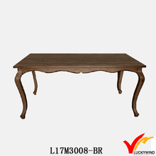 distress vintage exotic wood dining tables