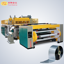 plastic bopp film slitting and rewinder making machinery small production line