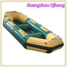 2016 Latest commercial PVC small inflatable fly fishing banana boat, passenger ferry boat for sale
