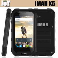 4.5 Inch IMAN X5 IP67 Waterproof Android 5.1 MTK6580 Quad Core 8GB ROM Unlocked 4G LTE Cell Phone