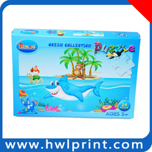 educational toys paper board games for kids, kid education toy