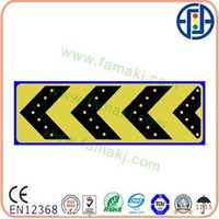 1200*400mm Solar Direction printable traffic signs