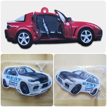 Wholesale fashion cheap custom room car scent air freshener hanging