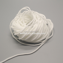 Import Rubber core Braided Elastic Band, Round Rubber Band Supplier