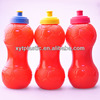 Double Ball Plastic Red Water Bottle for 2014 World Cup