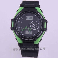 Digital watch, fashion style snap strap led watch, attractive silicon watch