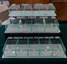 wholesale factory clear terrarium acrylic reptiles pet squirrel cages, acrylic bird box