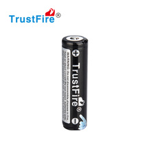 TrustFire 3.7v lithium rechargeable battery 2600mAh smallest 3.7v battery with Protection Board e-cig battery