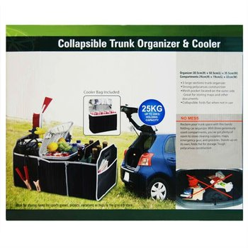 Collapsible Trunk Organizer and Cooler