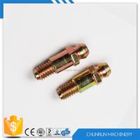 brass lead free high-quality tee electric motor & pump coupling 1/8 grease nipple
