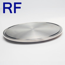 RF 3A DIN SMS ISO Sanitary Stainless Steel Pipe Fitting Tri Clamp End Cap Blind Ferrule