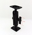 tablet mount 9.5 cm double arm and 2 pcs rectangle base