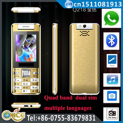 Q218 china mobile phone distributors 2.4 inch dual sim no brand cell phone with whatsapp torch rotate camera nexus GSM phone