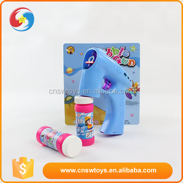 Guangdong custom design plastic children bubble shooter gun toy