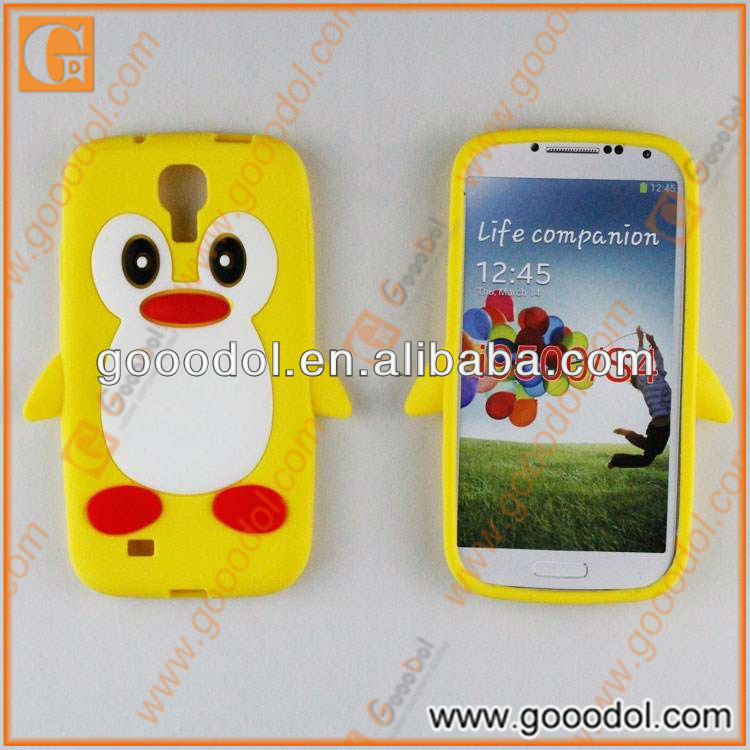 Silicone 3D Cover for Samsung Galaxy S4 i9500