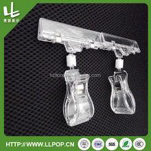 double sided plastic suspender clips