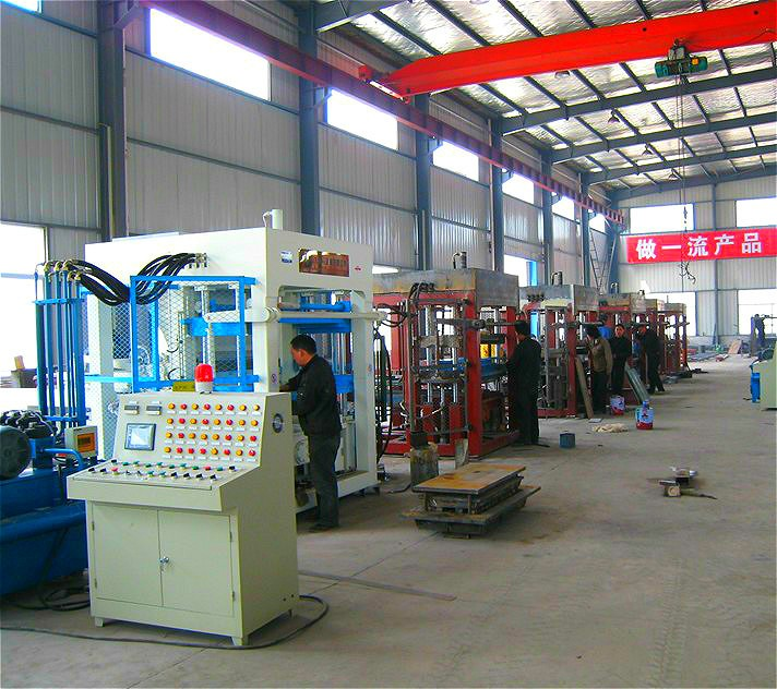 Qt10-15 hydraform entièrement automatique brique faisant la machine prix