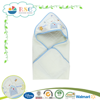 Lovely cartoon design softtextile baby bath towel towels with hood for kids
