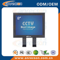 "8"" professional lcd security monitor"