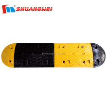 Best-selling durable road safety 1000*350*50mm rubber speed hump