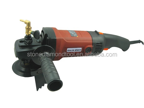 Variable Speed Water Angle Grinder for Polishing and Grinding