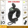 top quality outdoor survival military cord bracelet bracelet camping equipment