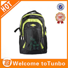 2014 hot practical bright color sport backpack with water bottle holder