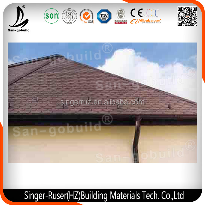 Cheap Multi-color Asphalt Shingles/Fiberglass Roof Tile Made in China