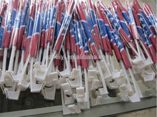 Free sample promotion polyester plastic car window flag poles