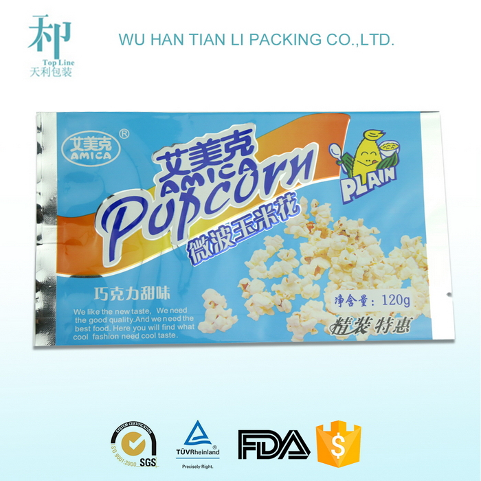 best quality customized printed biodegradable laminated food grade materials packaging for ice cream bar
