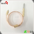 Gas blowing boiler flame sensor fireplace copper thermocouple with good after-service