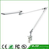 New fashion design popular metal touch dimmable led reading lamp suitable for work and study,silver table lamp