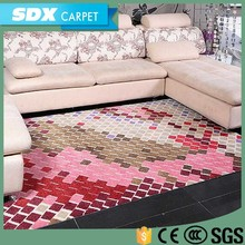 Graceful Printed Hotel Exhibition Acrylic Carpet For Sale