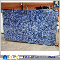 Ocean Blue Sparkle Quartz Stone Countertop