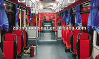 Zhongtong city bus seat capacity ZTZY8090/metal chair frames/mercedes seat/mini bus seat