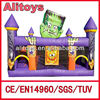Halloween inflatable jumping castle maze playground