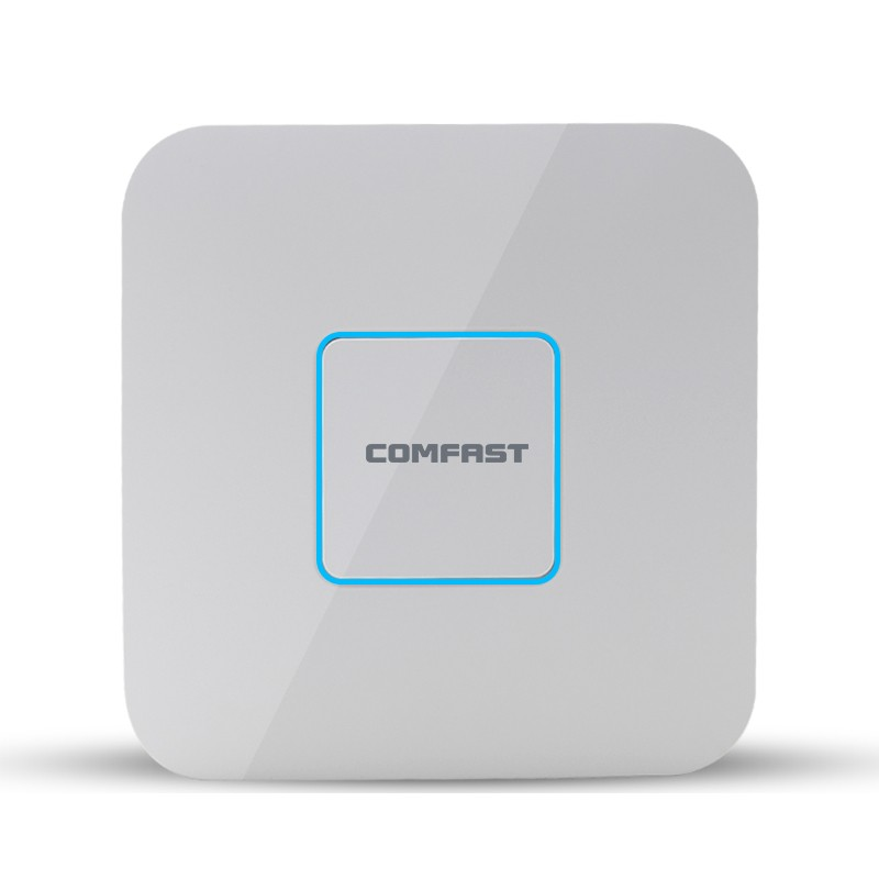 2016 Comfast 1200Mbps Dual Band Indoor Ceiling wifi AP Wireless IN WALL Access Point with POE adaptor CF-E355AC